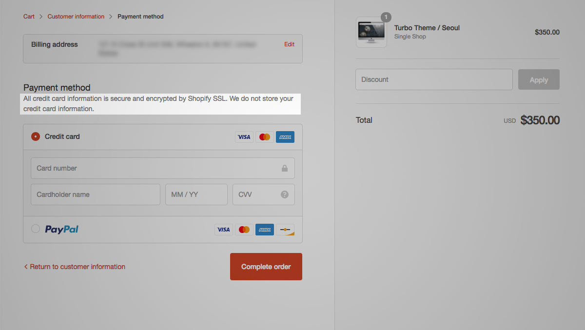 Secrets to tweaking and customizing Shopify checkout pages - Out ...