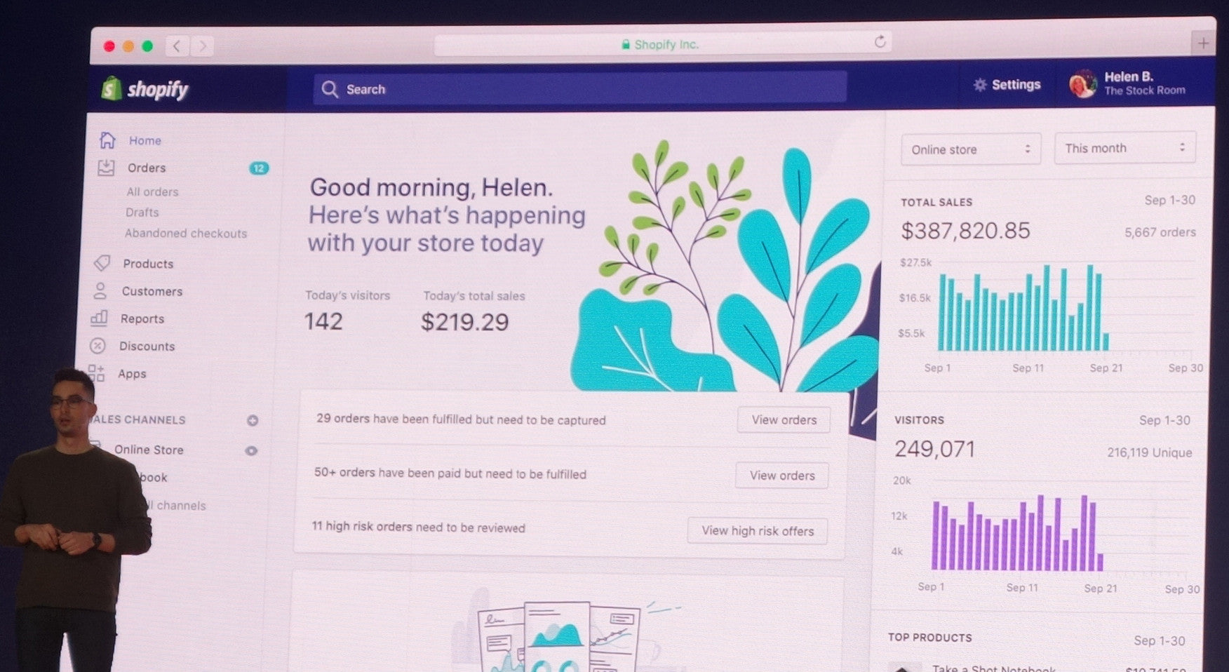 A big change to the Shopify admin is coming — it's called Polaris