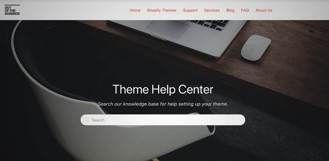 Shopify theme support site