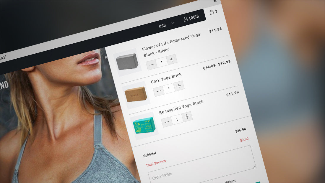 Shopify mini cart