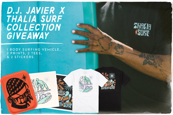 Thalia Surf x D.J. Javier Collection Giveaway!