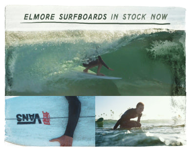 Elmore Surfboards at Thalia Surf