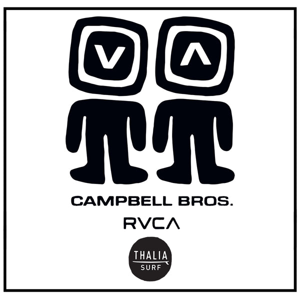 RVCA x Campbell Brothers Collection Launch!