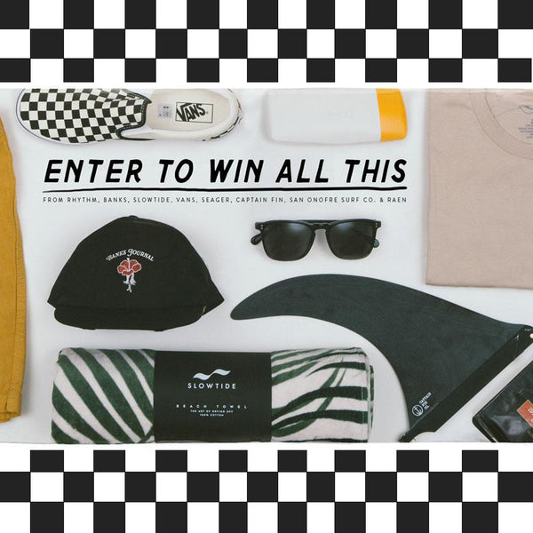 Enter to Win All This!