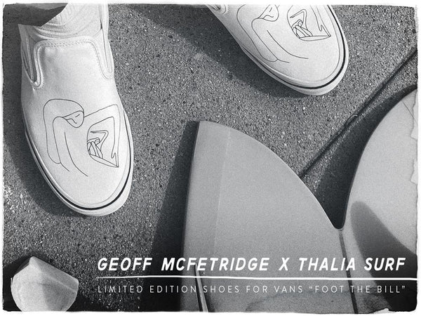 FOOT THE BILL! Vans x Thalia x G. McFetridge
