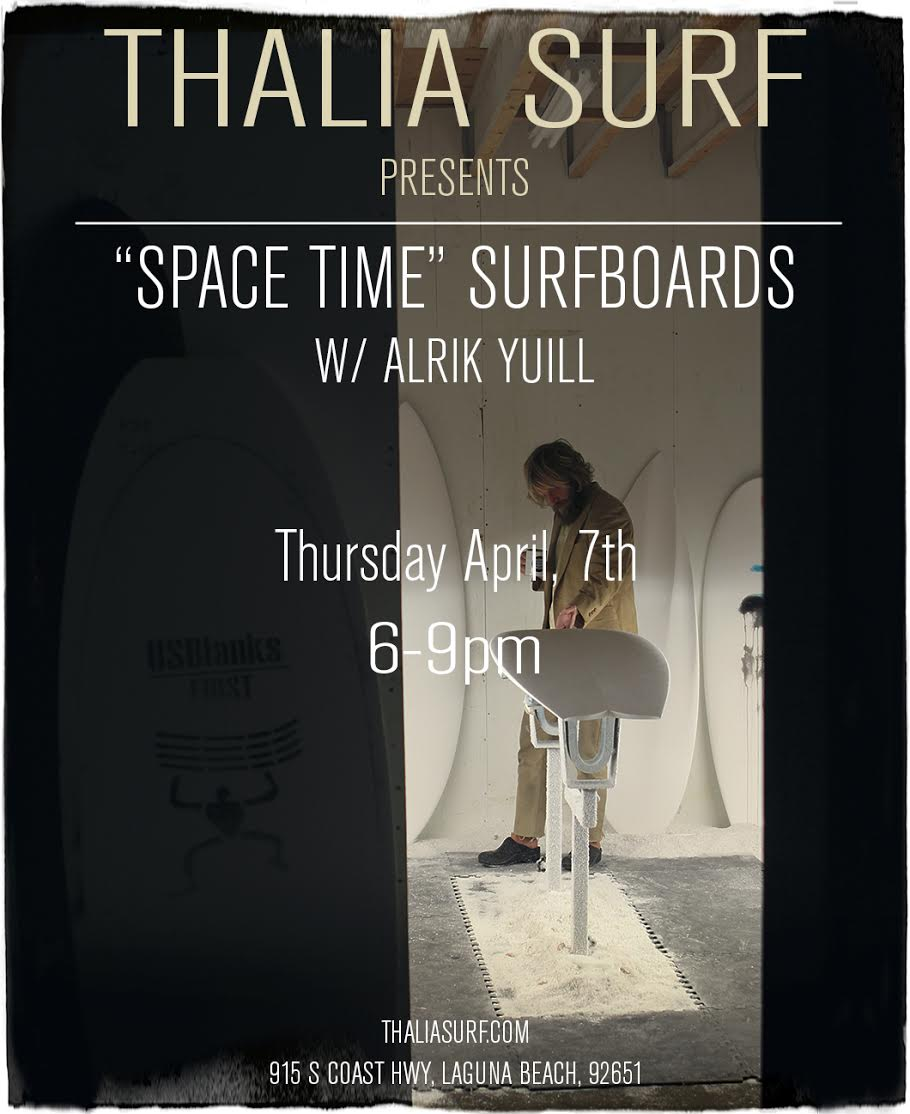 Space Time Surfboards with Alrik Yuill
