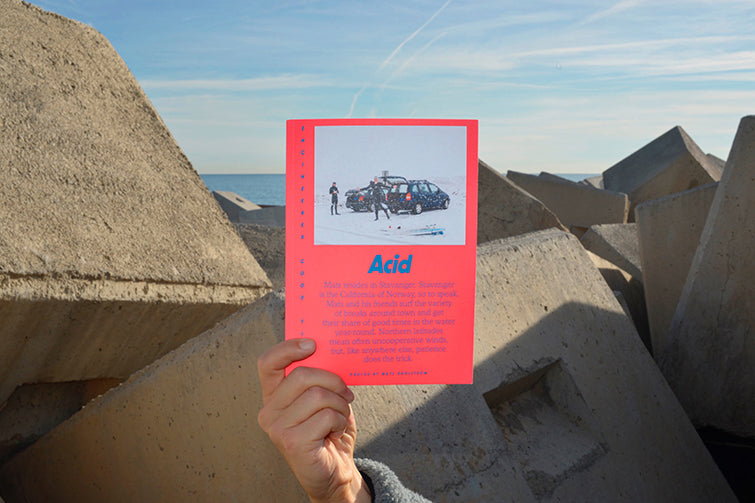 Acid Mag Issue 2 Surf Publication