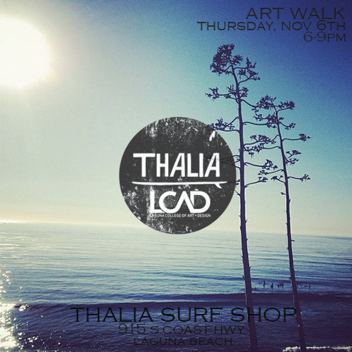 Thalia Surf x Laguna College of Art + Design Collab Art Walk