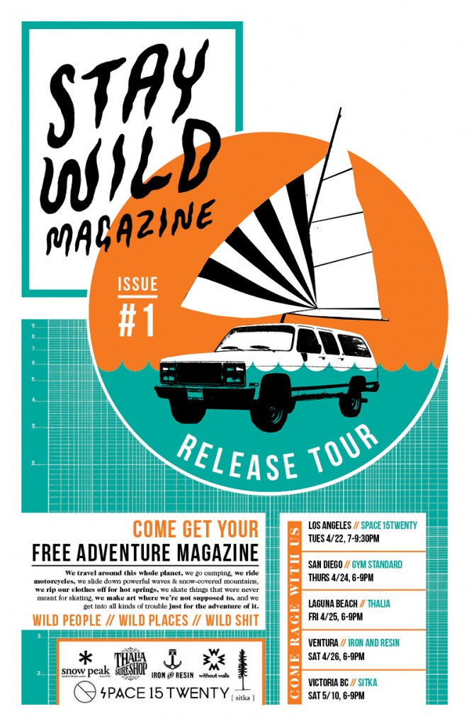 stay wild magazine release party