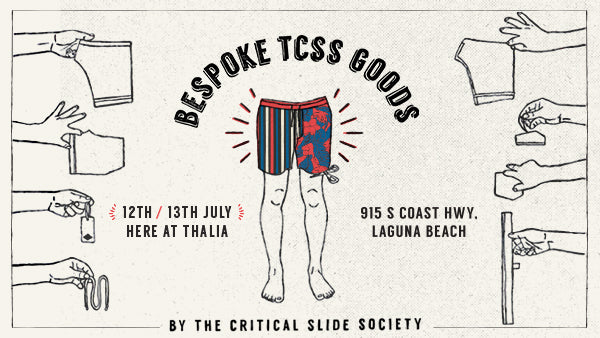 TCSS Bespoke Goods at Thalia Surf Shop