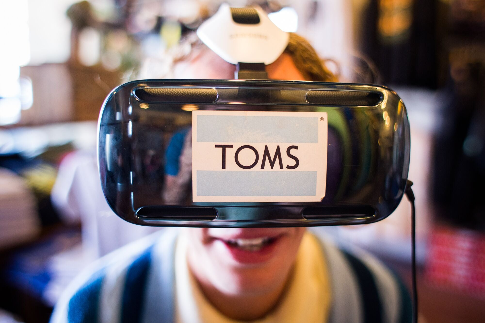 TOMS Virtual Reality Radness