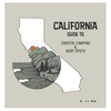 California Guide to Coastal Camping and Surf Spots Book