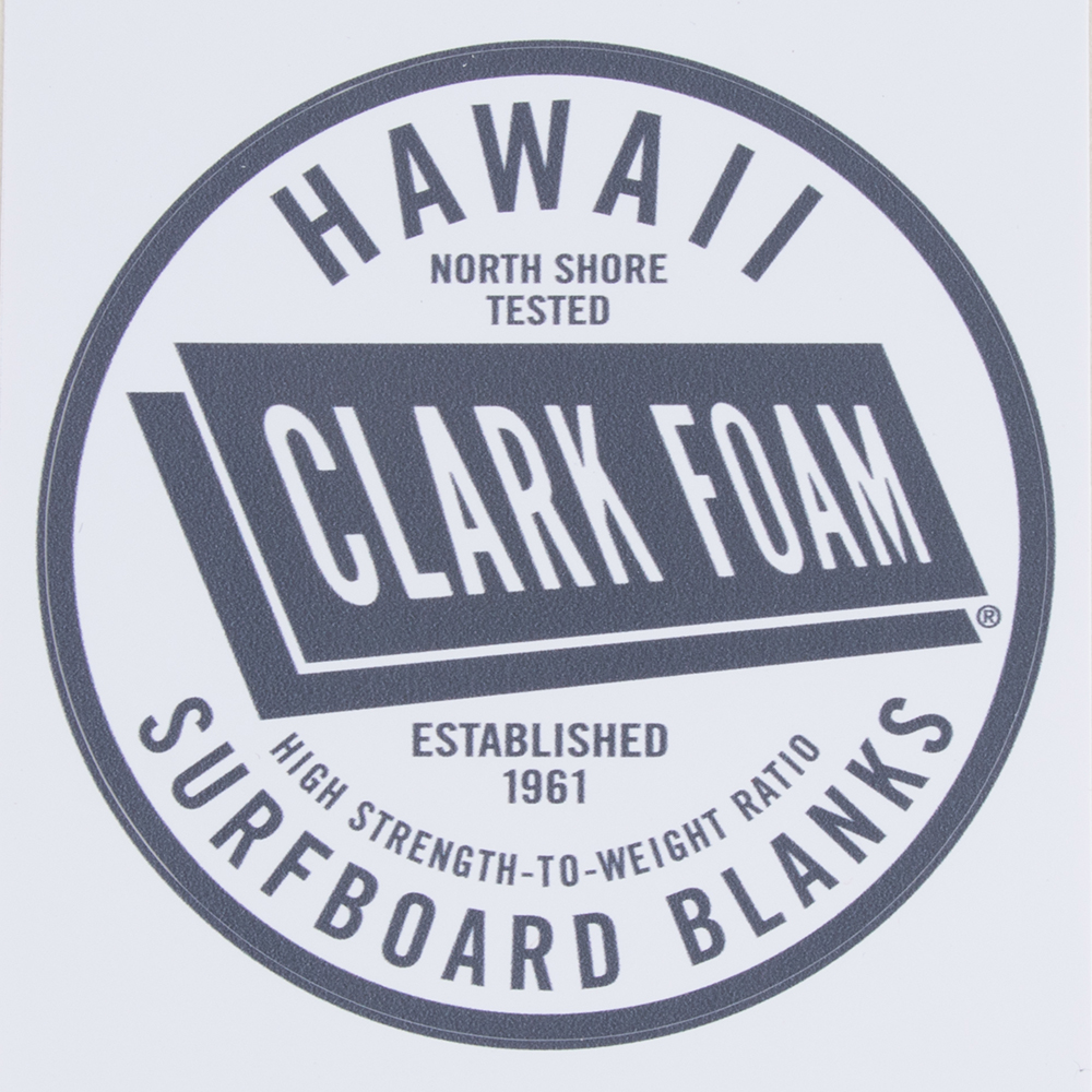 Clark Foam Circle Sticker