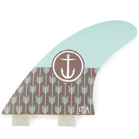 "Captain Fin JJ Wessels Splash 9.75"" Surfboard Fin"