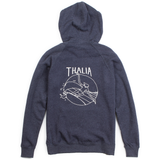 Thalia Surf Single Hook Pullover Hoodie Womens Fleece