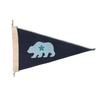Slightly Choppy CA Bear Flag
