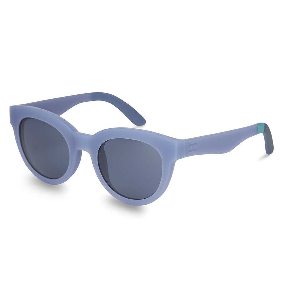 Toms Florentin Matte Inifinity Blue Sunglasses
