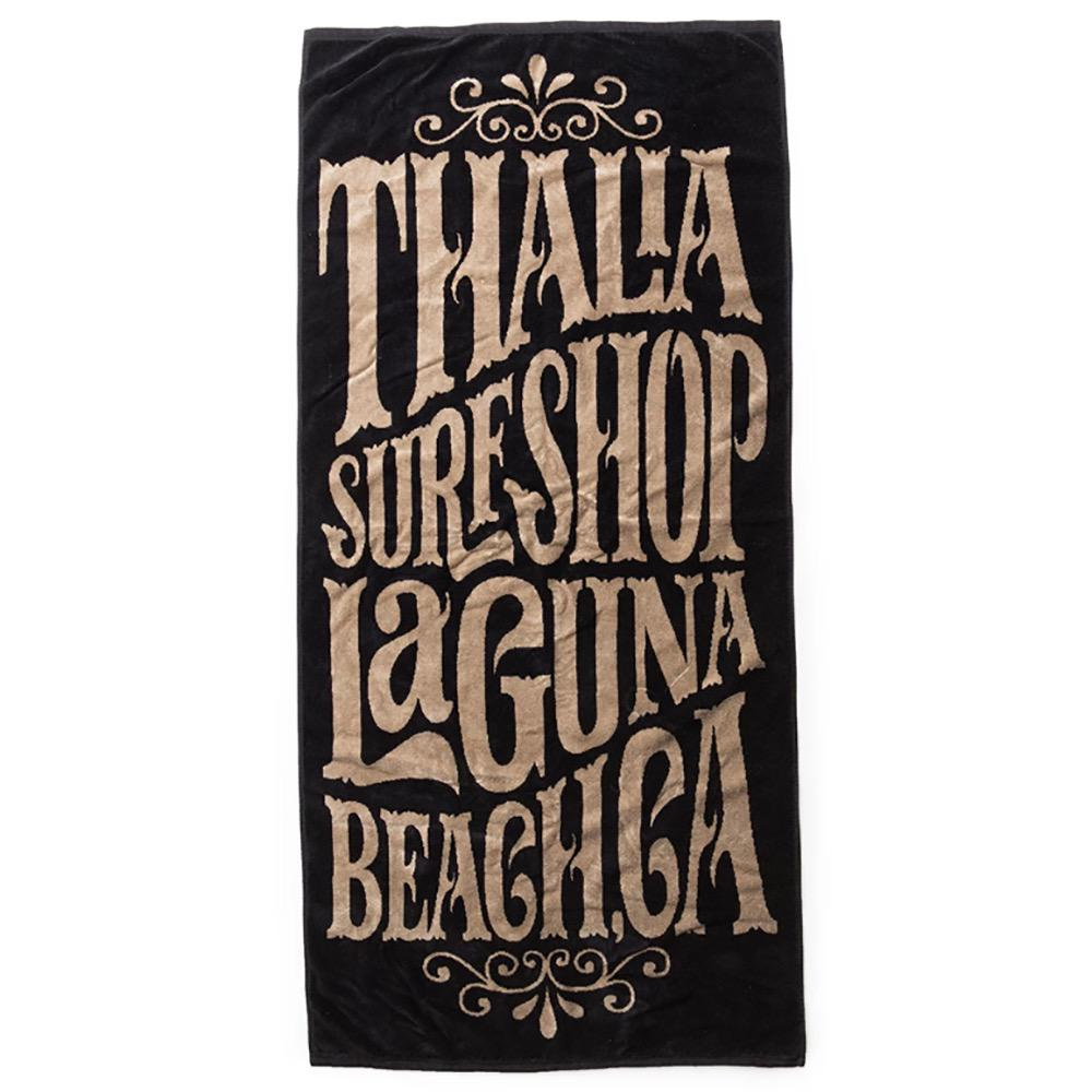 Thalia Surf Whip Cream Tan/Black Towel