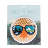 Forest and Waves Local Tourist Patch