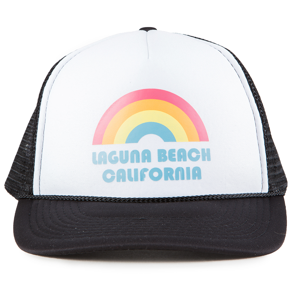 Thalia Surf Rainbow Trucker Hat