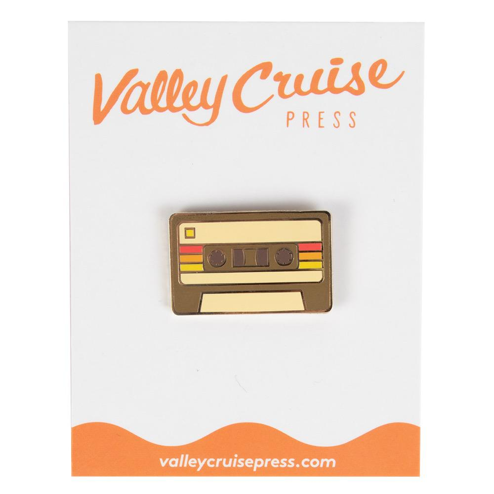 Valley Cruise Demo Tape Cassette Enamel Pin