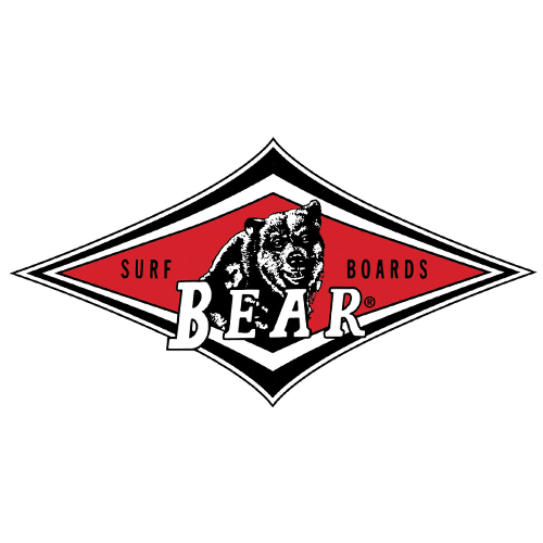 Bear Surfboards Classic Sticker