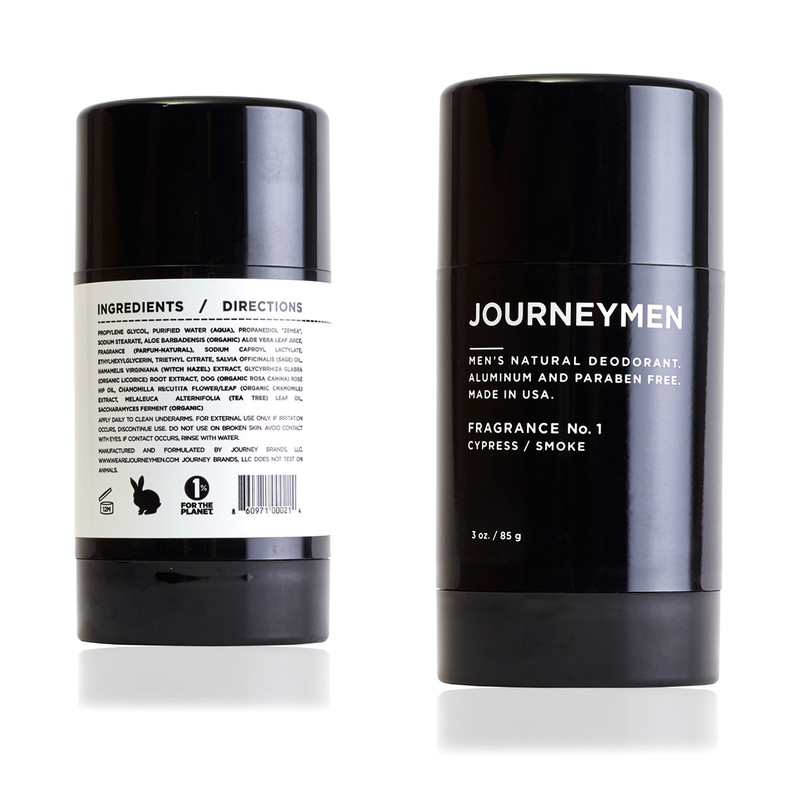 Journeymen Deodorant Stick Mens Grooming