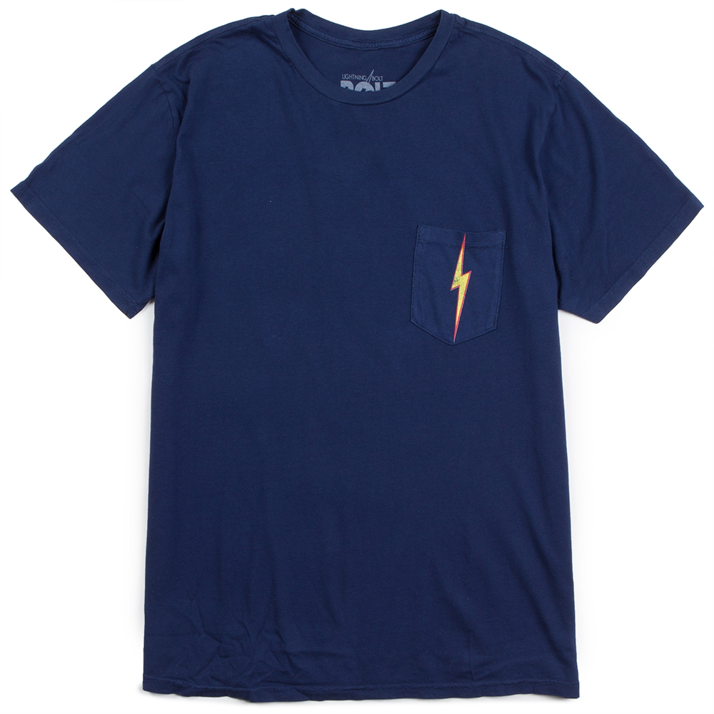 Lightning Bolt OG Bolt Pocket Mens Classic Tee