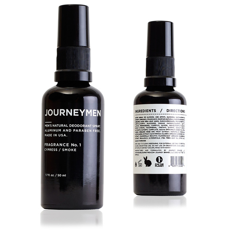 Journeymen Deodorant Spray Mens Grooming
