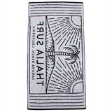 Thalia Surf Split Peak Towel