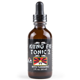 Kung Fu Tonic 2 w/ Turmeric 2oz bottle