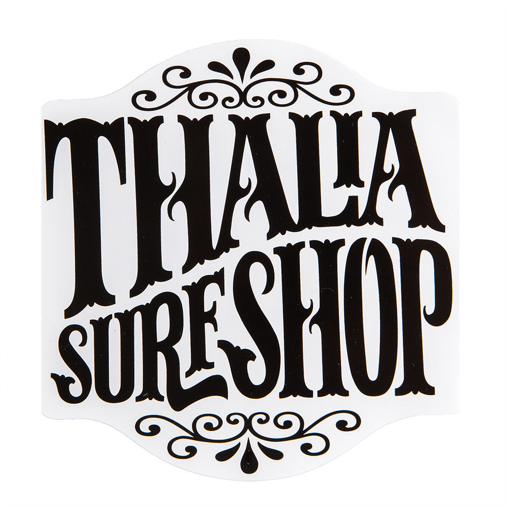 "Thalia Surf Whip Cream Big 4 3/4"" Sticker"