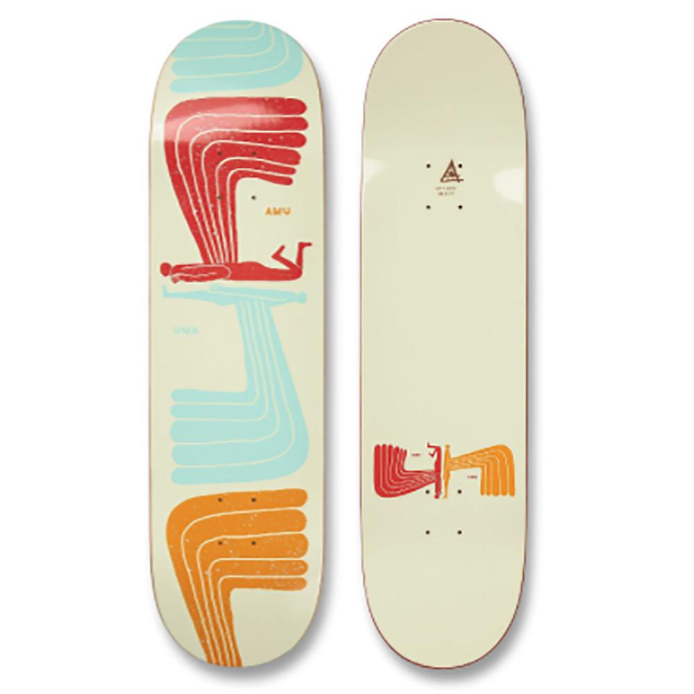 Uma Landsleds WingWing Popsicle Skateboard Deck