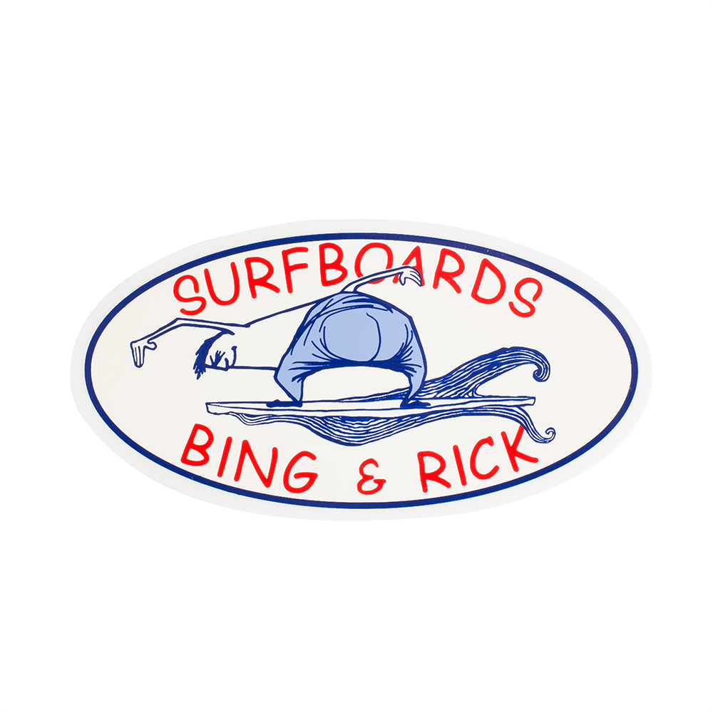 Bing and Rick Sticker