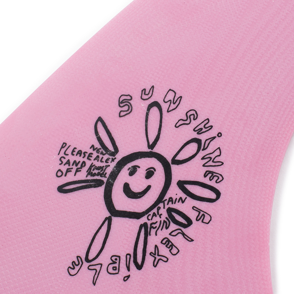 "Captain Fin Alex Knost Sunshine Pink 10"" Surfboard Fin"