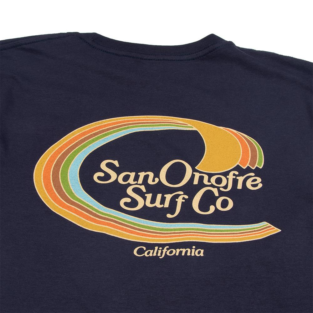 San Onofre Surf Co Trim Line Mens Tee
