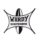 Wardy Surfboards Classic Sticker