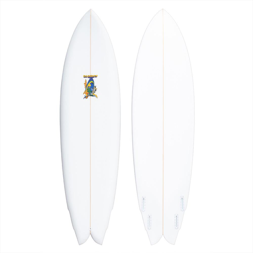 "Rainbow Surfboards 7'0"" Quad Speed Dialer Surfboard"