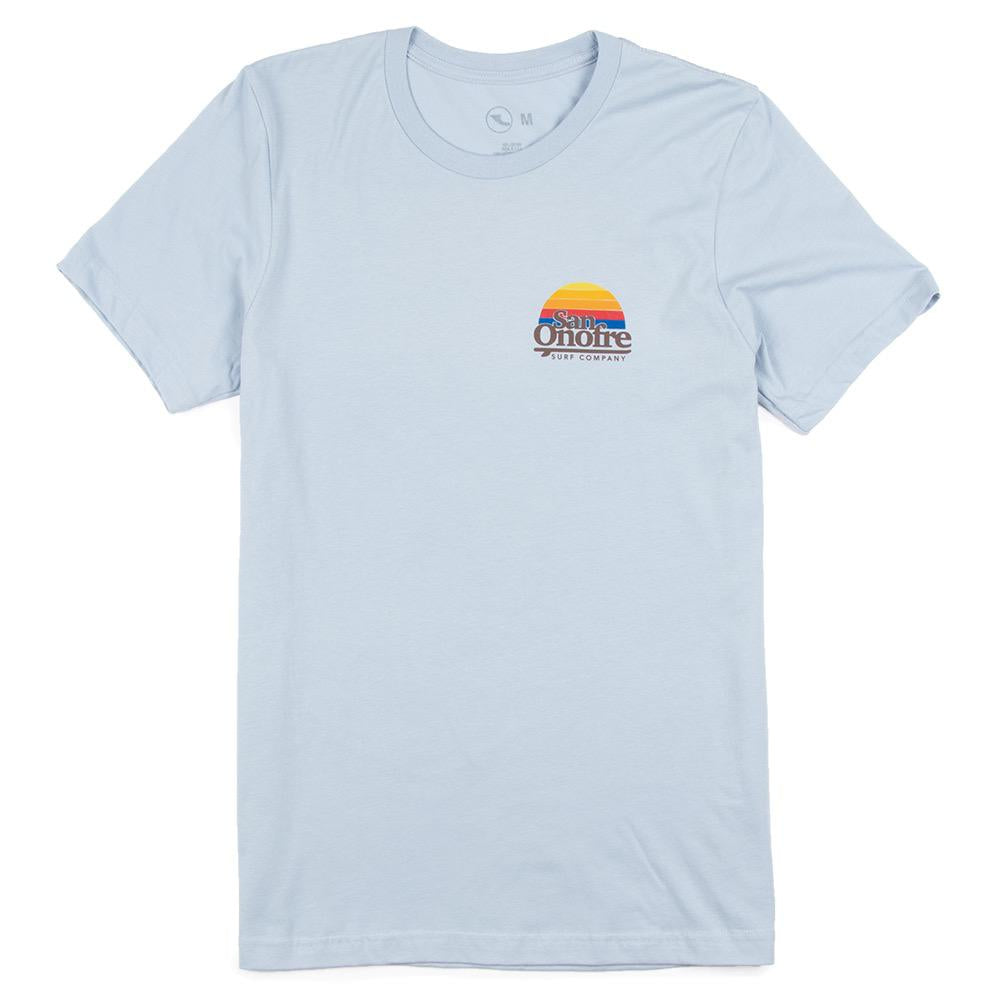 San Onofre Surf Co Old School Sun Mens Tee