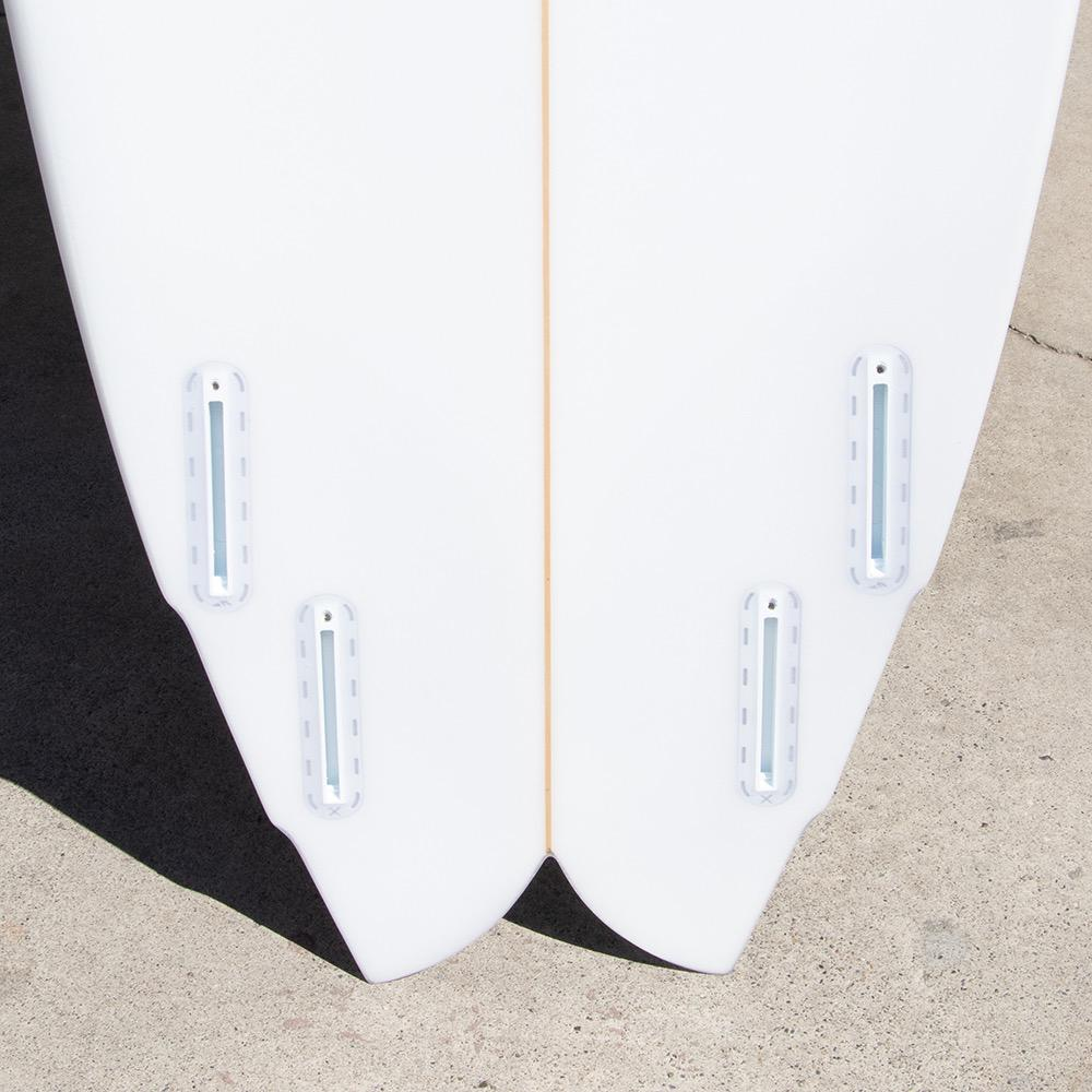 "Rainbow Surfboards 5'10"" Quad Speed Dialer Surfboard"