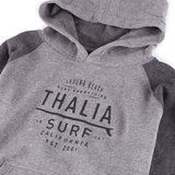Thalia Surf Crest Logo Distressed Kids Fleece