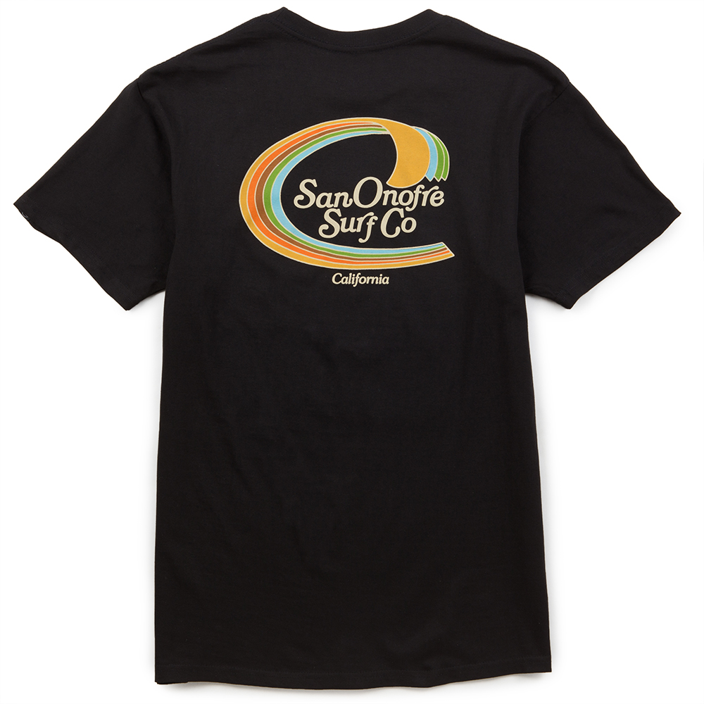 San Onofre Surf Co Trim Mens Tee