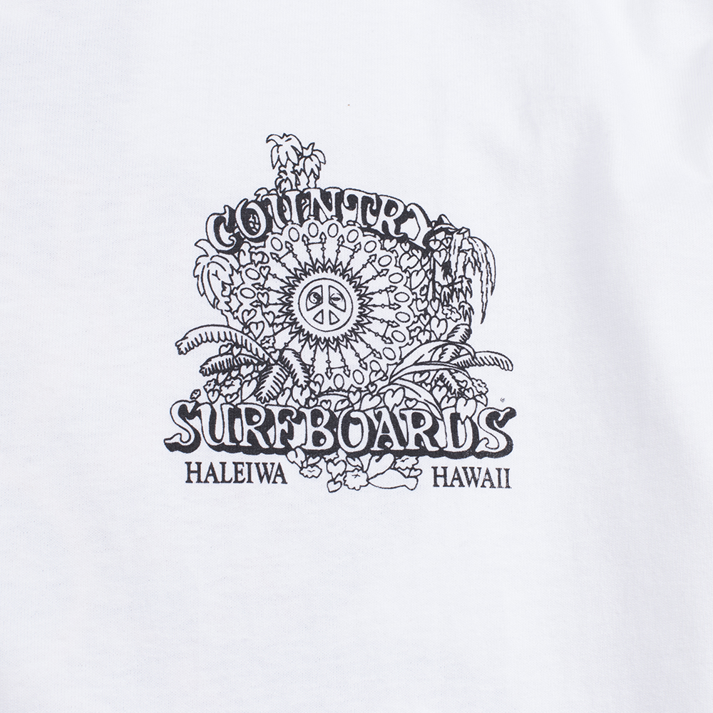 Country Surfboards Logo Mens Classic Tee