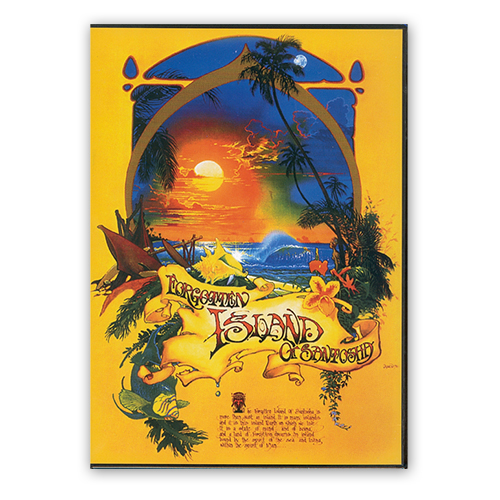 The Forgotten Island Of Santosha DVD