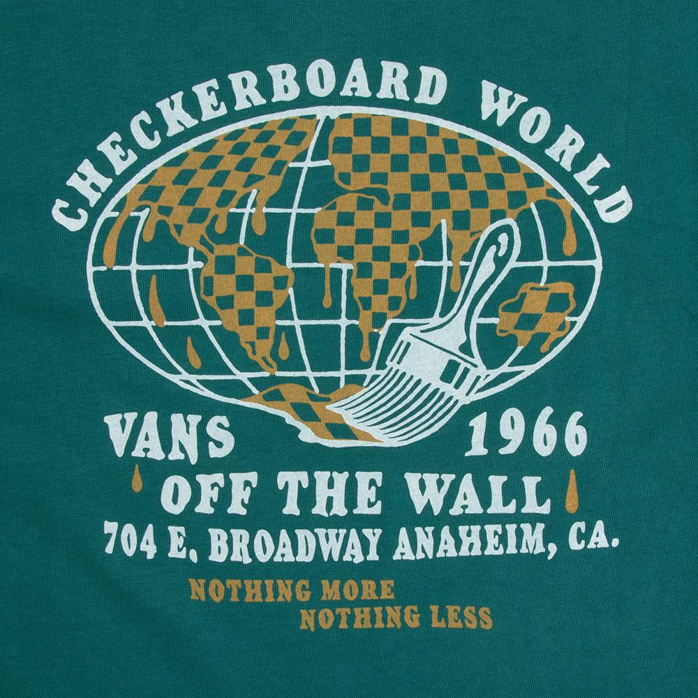 Vans Vintage Checkerboard World Mens Tee