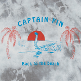 Captain Fin Hang Ten Premium Mens Tee