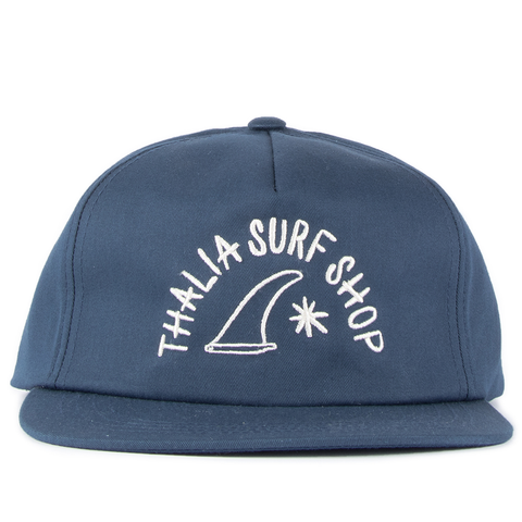 "Thalia Surf Dot Navy Small 2"" Sticker"