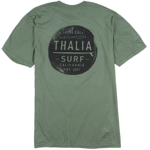 Thalia Surf Bus Trim Cropped Womens Tee