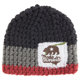 Thalia Surf Made in Cali Patch Crochet Beanie
