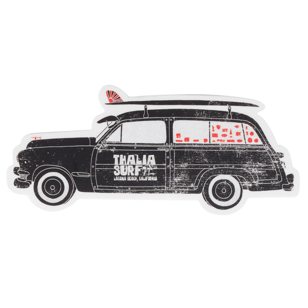 Thalia Surf Woody Sticker